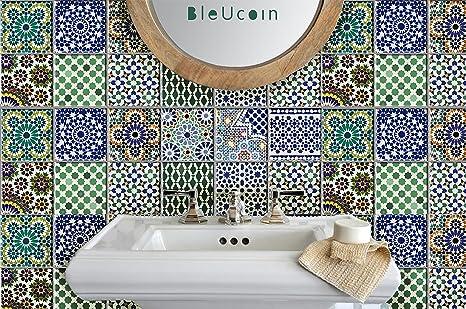 Adesivi per piastrelle marocchine per la cucina backsplash per la