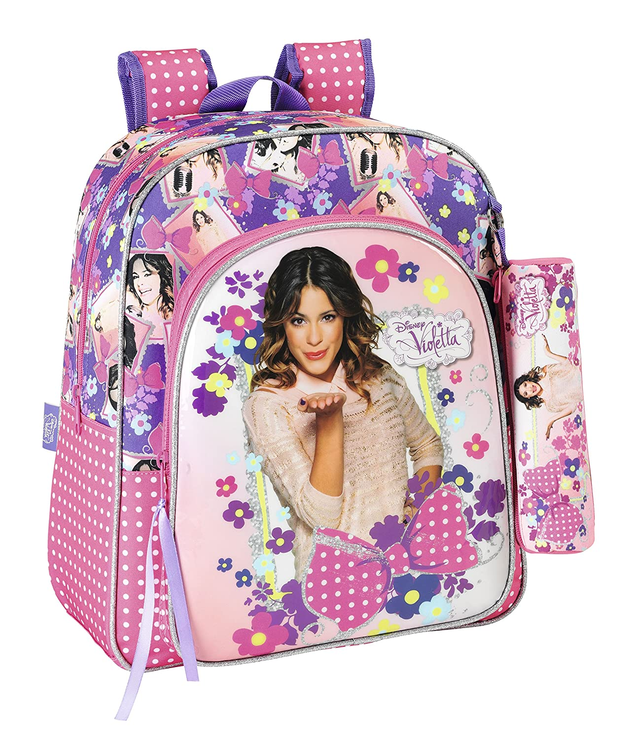 Violetta - Mochila junior adaptable a carro (Safta 611429640): Amazon.es: Ropa y accesorios