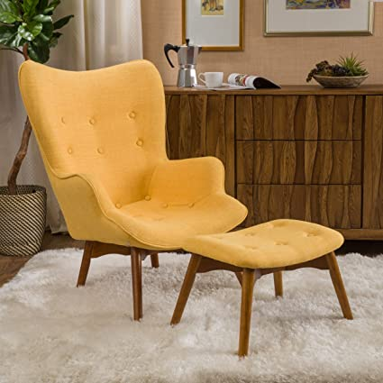 amazon com acantha mid century modern retro contour chair with