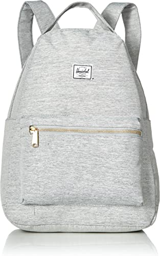 Herschel Nova Backpack, Light Gray Crosshatch, Mid-volume 18.0L