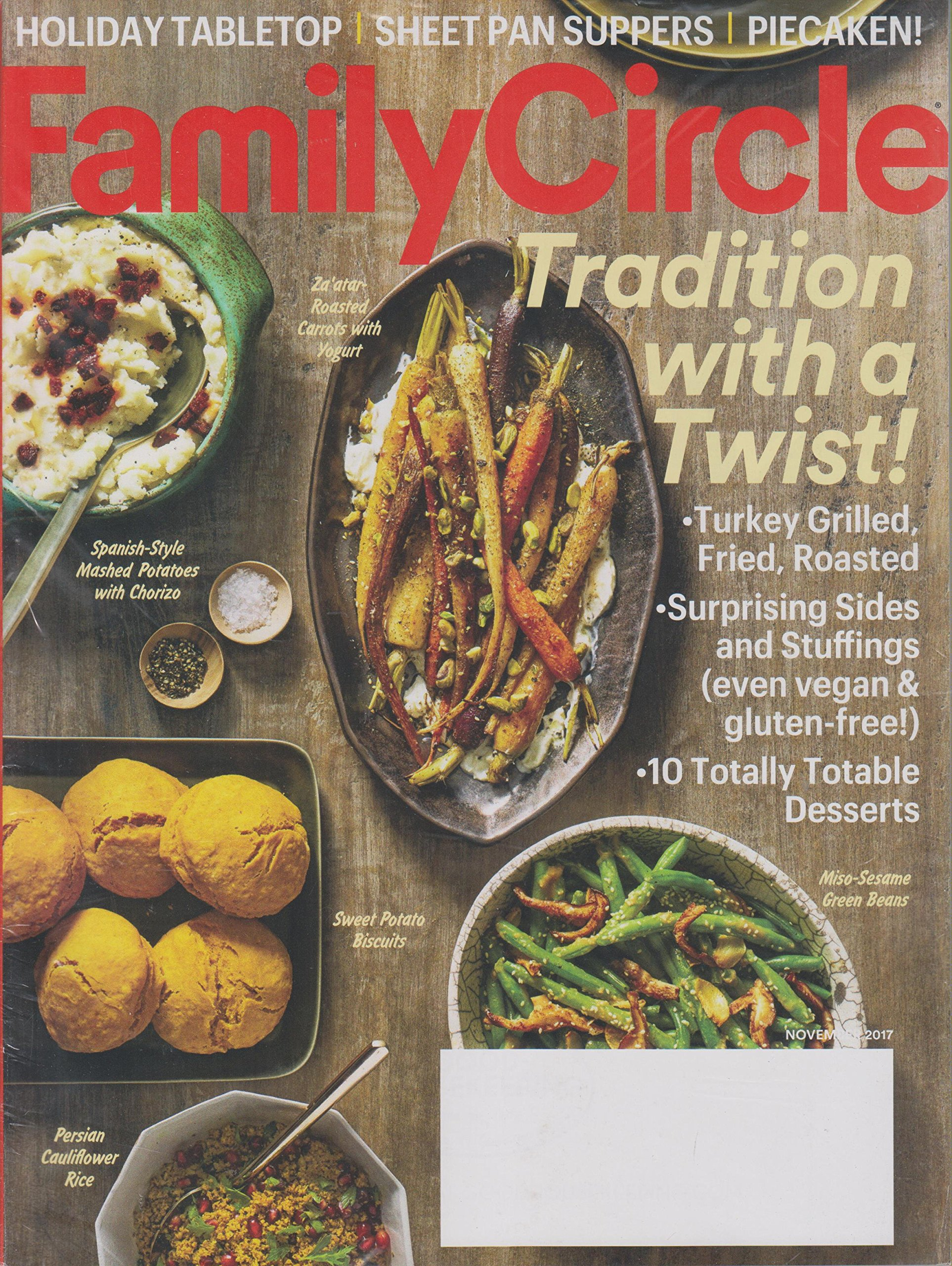 Read Online Family Circle November 2017 Tradition With A Twist pdf