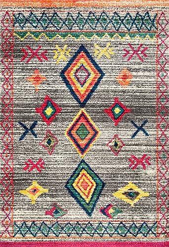 Reviewed: nuLOOM Nizhoni Tribal Shag Rug