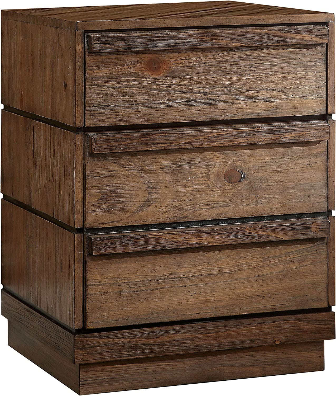 William's Home Furnishing Coimbra Nightstands, Brown