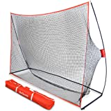 GoSports Golf Practice Hitting Net | Choose Between Huge 10' x 7' or 7' x 7' Nets | Personal Driving Range for Indoor or Outd
