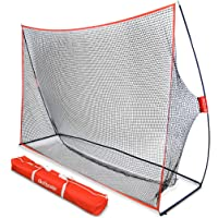 GoSports Golf Practice Hitting Net | Huge 10' x 7' Personal Driving Range for Indoor or Outdoor Use | Designed by Golfers for Golfers
