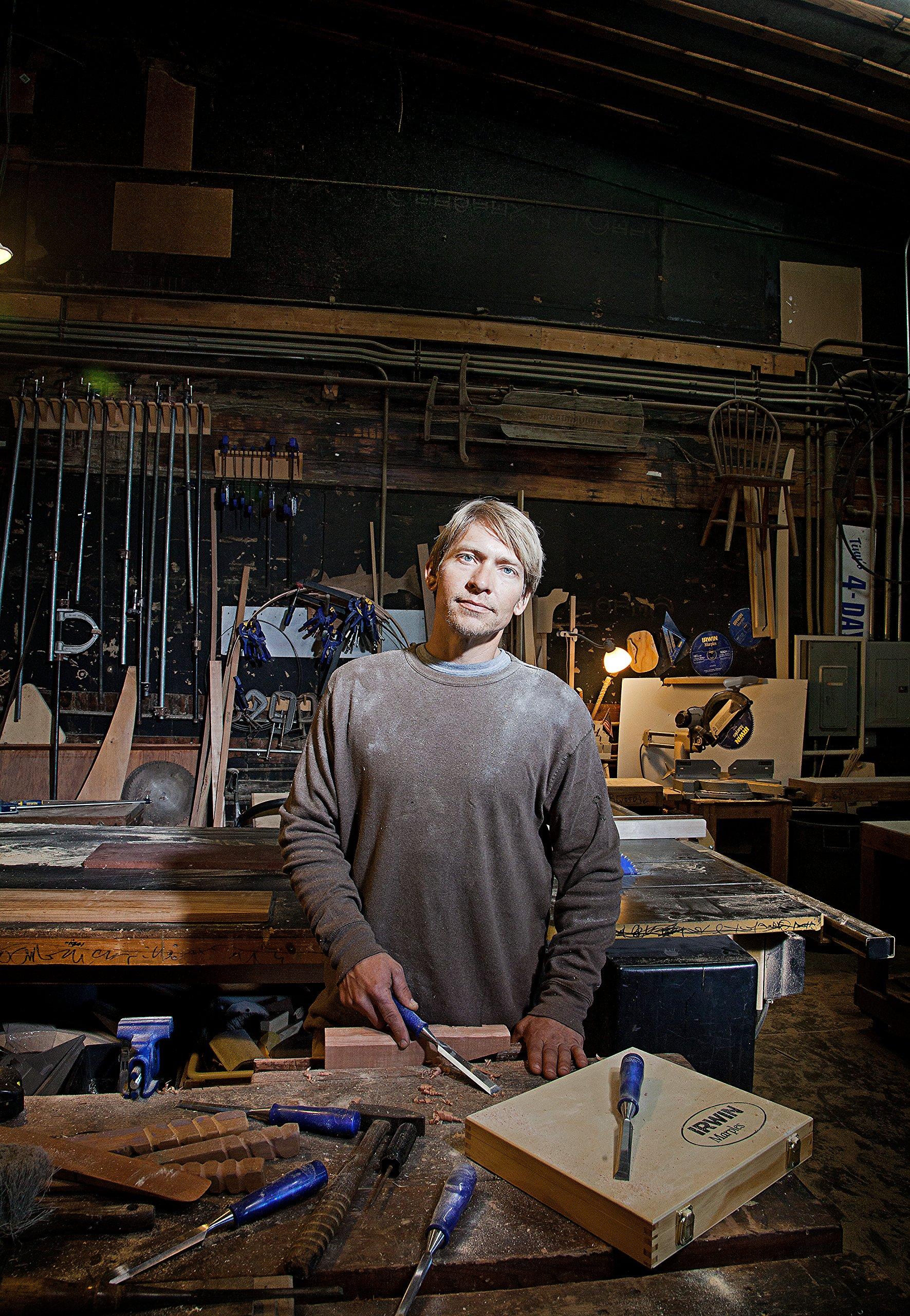 Irwin Tools Marples Woodworking Chisel Set, 6 Piece, M444SB6N by Irwin Tools