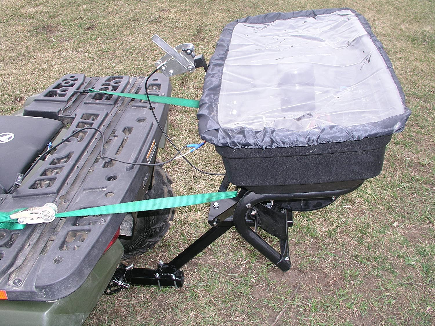 Field Tuff AS-125ATV12 Receiver Mount Spreader, 125-Pound TRI Global Enterprises
