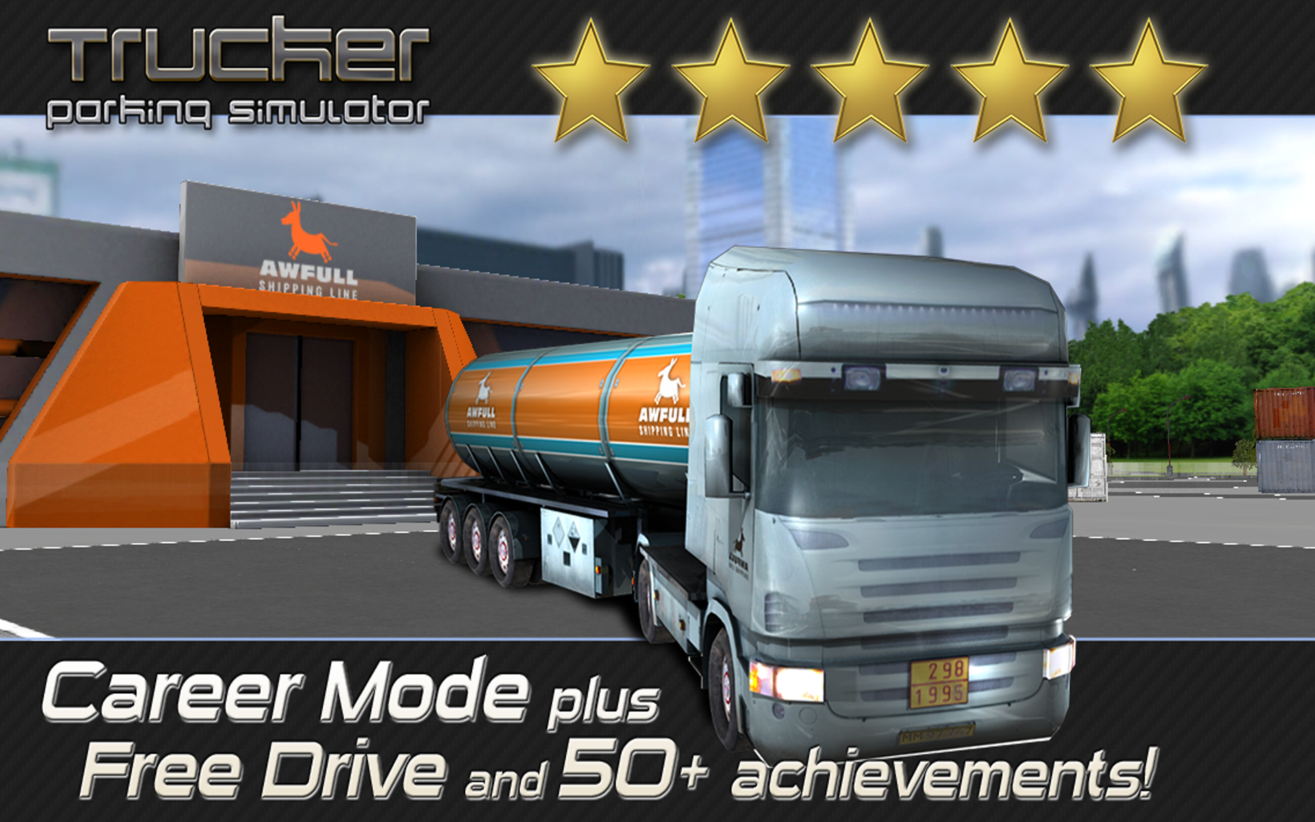 Amazon Com Trucker Parking Simulator Realistic 3d Monster Truck And Lorry Driving Test Free Racing Game Appstore For Android