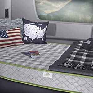 "MotorHome InnerSpace Travel Comfort 5.5"" RV - Mattress-In-A-Box"