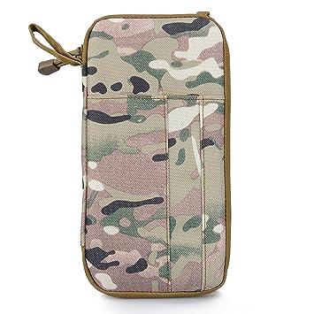 Cooyoo d-serv Servicio diario Woodland camuflaje bolsa de mano bolso cartera bolsa salud herramienta