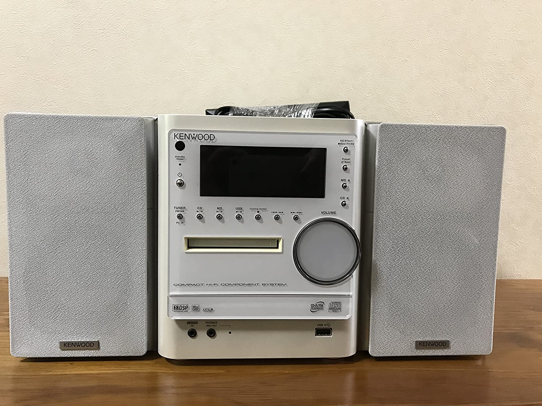 KENWOOD ケンウッド JVC NDL-100MD コンパクトハイファイコンポーネントシステム (CD/MDコンポ)(本体RMD-NDL100とスピーカーLS-NDL100-Wのセット)   B00Q7ZF0MA
