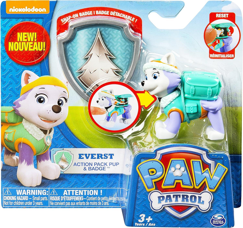 Paw Patrol - Paw Patrol - Action Pack Everest y Placa: Amazon.es ...