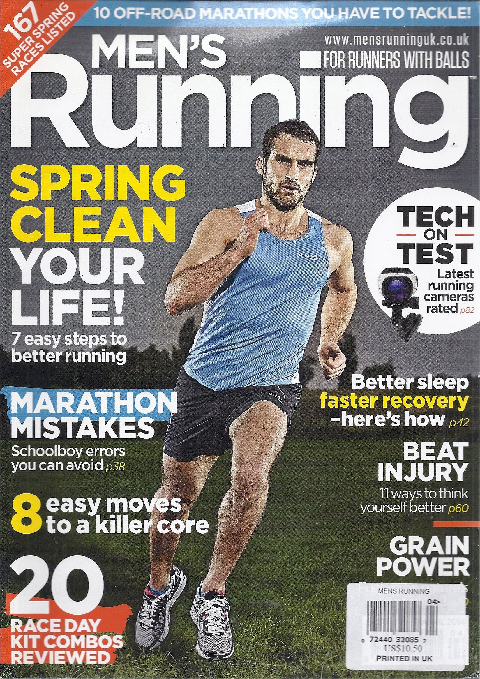 Men's Running Magazine (April 2014 - For Runners With Balls) pdf