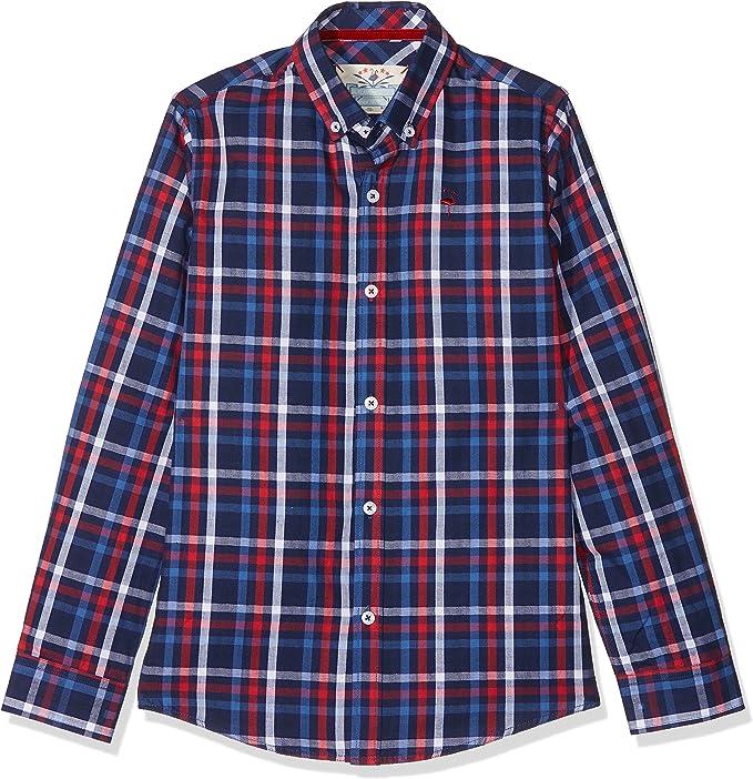 EL FLAMENCO Office Camisa, Azul (Único), (Tamaño del Fabricante:16) para Niños: Amazon.es: Ropa y accesorios
