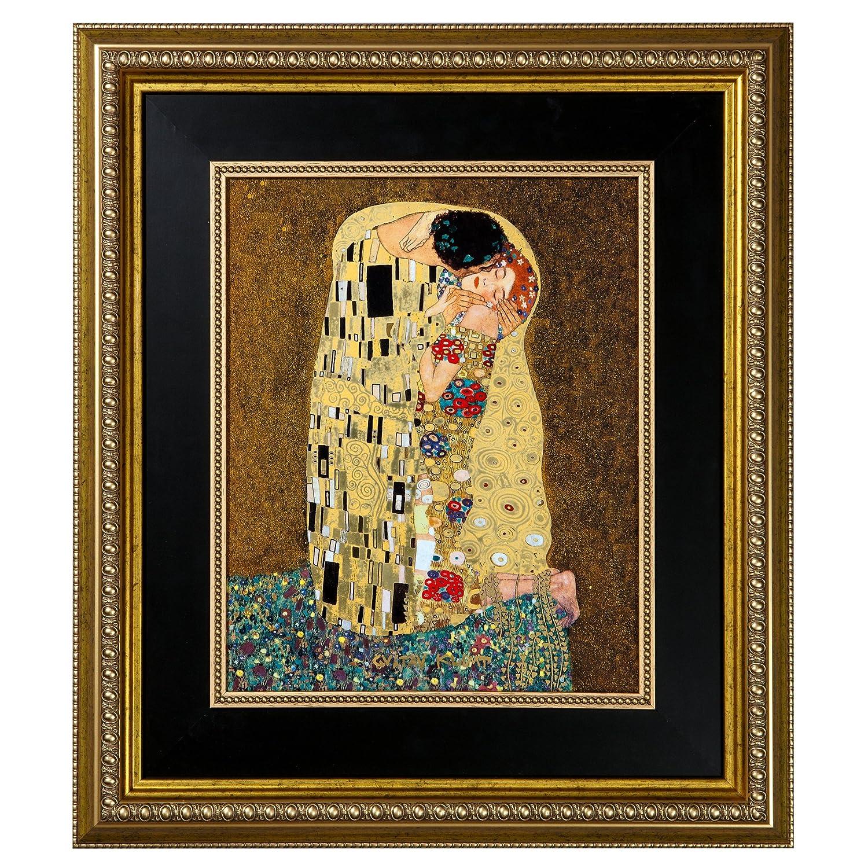 Goebel 66517202 Gustav Klimt Wandbild Der Kuss