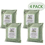 Moso Natural 200gm Air Purifying Bag, Green, 4-Pack