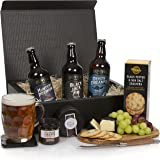 Beer and Cheese Hamper - The Real Ale Hamper For Him - The Perfect Gift For The Beer Lover - Birthday Ideas & Mens Gifts - Free UK Delivery