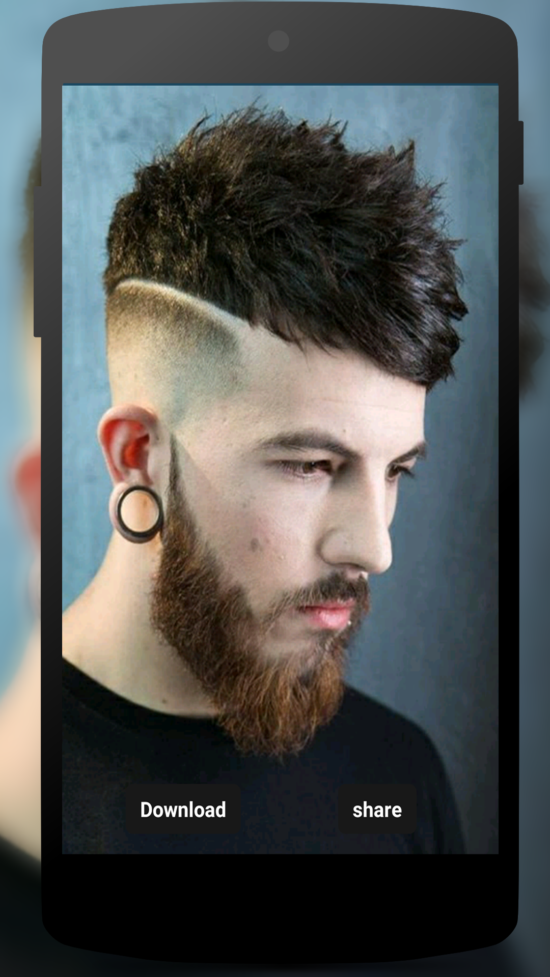 Latest Hair Style For Men 2018 Free Amazon Com Br Amazon Appstore