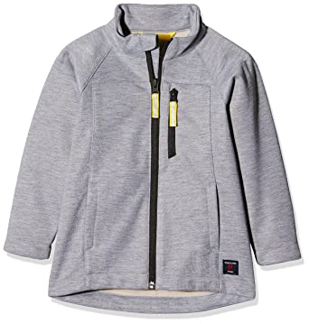 9f37601d8 Amazon.com: Polarn O. Pyret Gray Melange Soft Shell Jacket (2-6YRS ...