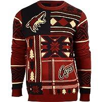 Foco Arizona Coyotes Patches Ugly Crew Neck Sweater Medium
