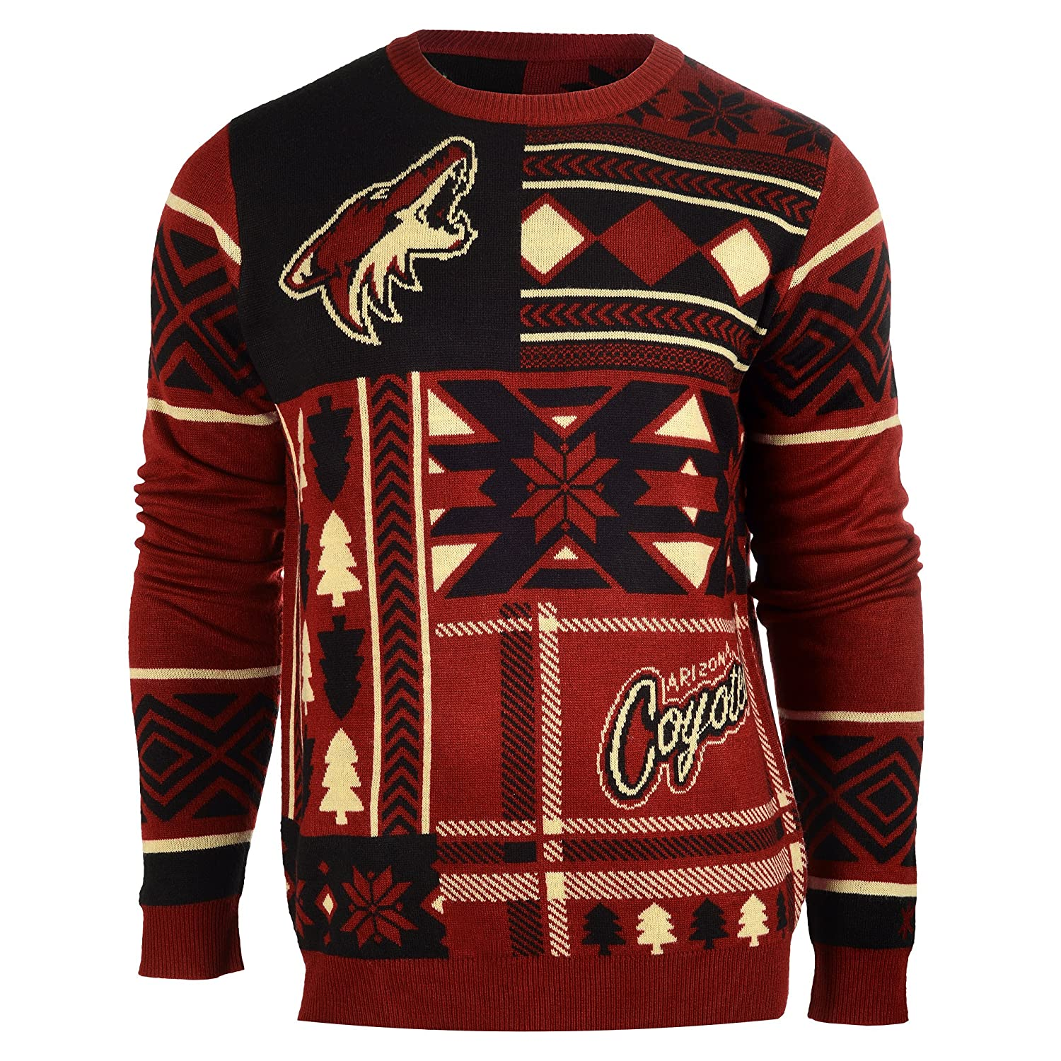 Amazon.com : FOCO NHL Patches Ugly Sweater - Pick Team : Sports ...