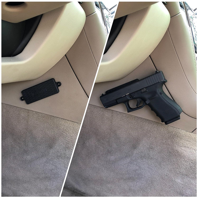 Amazon.com: Soporte magnético para pistola con recubrimiento ...