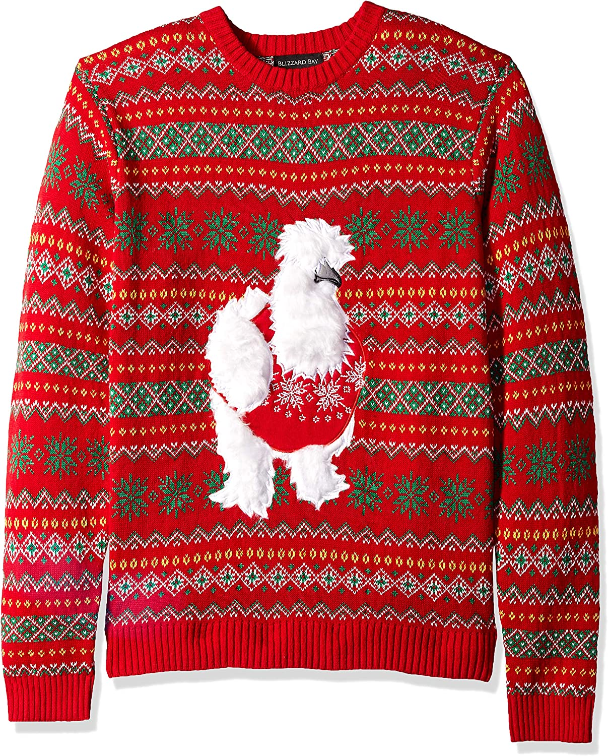 Blizzard Bay Boys Ugly Chrismas Sweater Animals