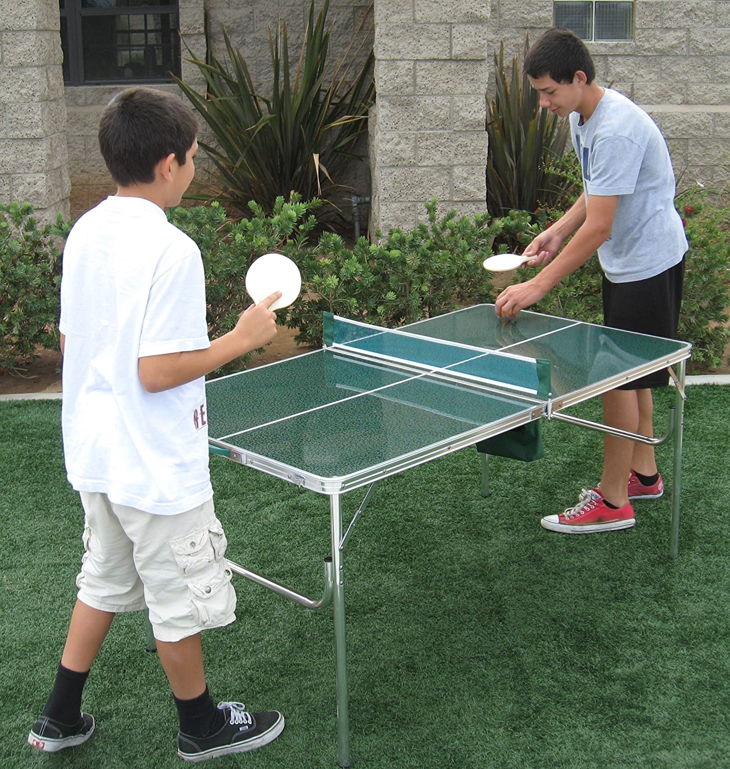 Superieur Amazon.com : Unique Oasis Mini Cool Ping Pong Table 5 Years Warranty High  Quality Product Lightweight And Portable : Sports U0026 Outdoors