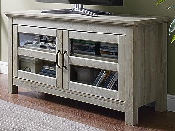 White Media Console Furniture. We Furniture 44\u0026quot; Wood Tv Media  Stand Storage
