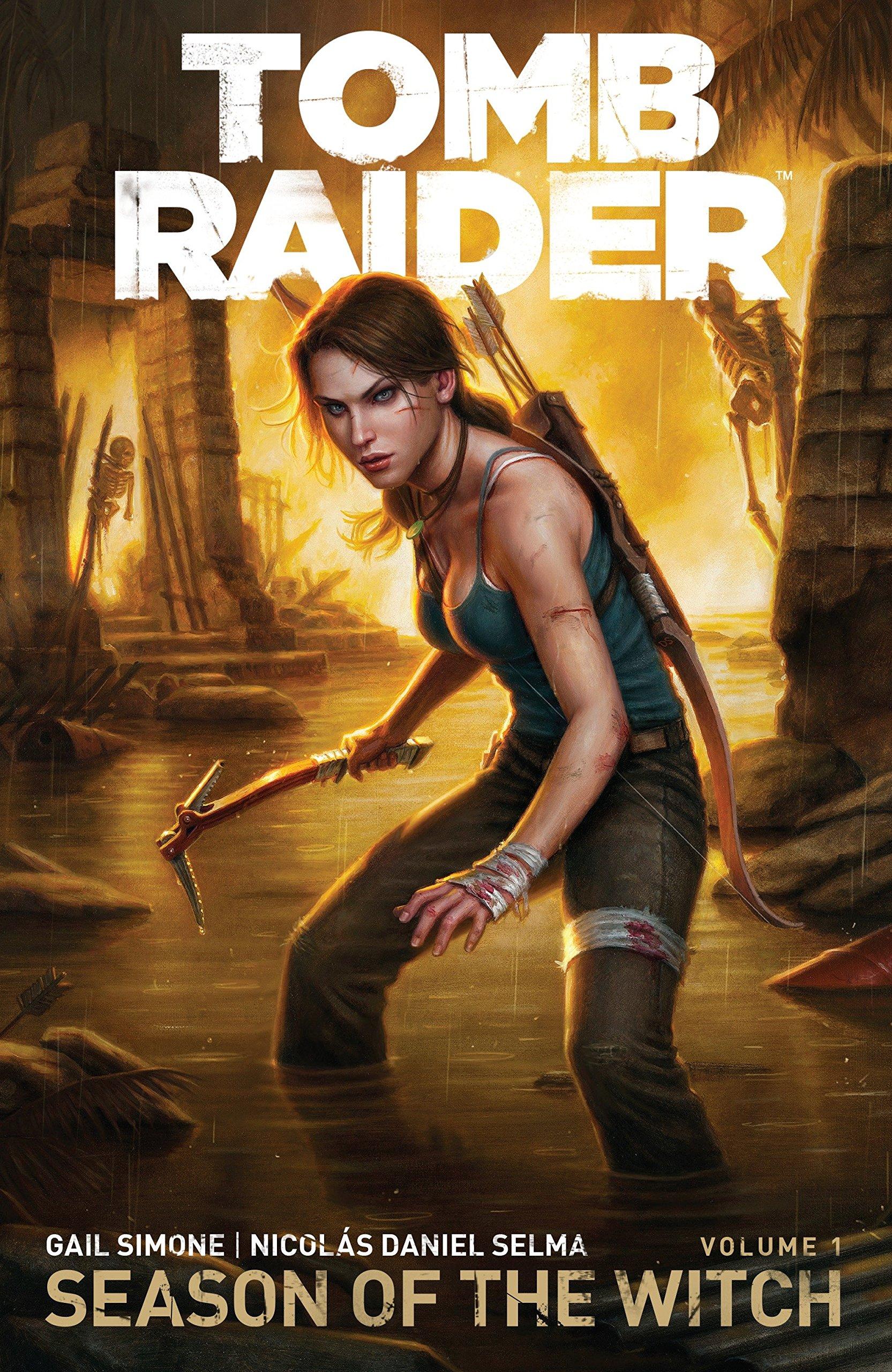 Tomb Raider Volume 1: Season of the Witch: Amazon.co.uk: Gail Simone:  9781616554910: Books