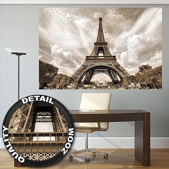 Affiche De La Tour Eiffel Peinture Mural De Décoration France