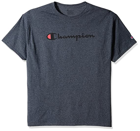 delicate colors promo codes official photos Champion Men's Classic Jersey Script T-Shirt