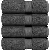 Utopia Towels - Bath Towels Set, (27 x 54 Inches) - Luxurious 700 GSM 100% Ring Spun Cotton - Quick Dry, Highly Absorbent, So