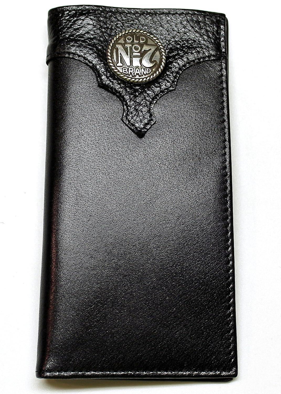 5e6e69744db1a Jack Daniel s Men s Old No. 7 Collection Black Roper Wallet - Black at  Amazon Men s Clothing store
