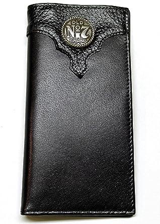 6cf95172f5de3 Image Unavailable. Image not available for. Color  Jack Daniel s Men s Old  No. 7 Collection Black Roper Wallet ...