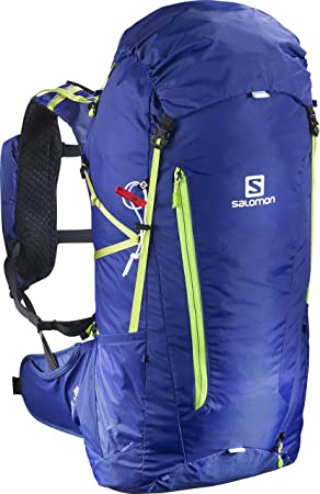 Amazon.com : Salomon Unisex Peak 40 Backpack, Black, OS : Sports & Outdoors