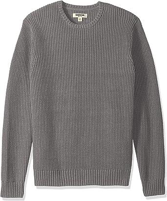 Marca Amazon – Goodthreads – Jersey de algodón suave con cuello ...