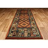 Traditional-Persian/Oriental Oriental Design Multi Rug, Machine Made from Polypropylene, Hall Runner Runner 68 x 235 cm