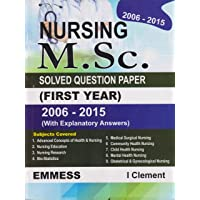 Nursing Msc Solved Question Paper First Year 2006-2015 With Explanatory Answers