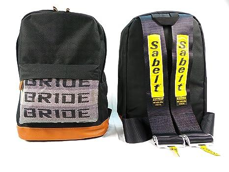 Amazon.com: Bride JDM Racing Backpack Racing Harness Shoulder Straps