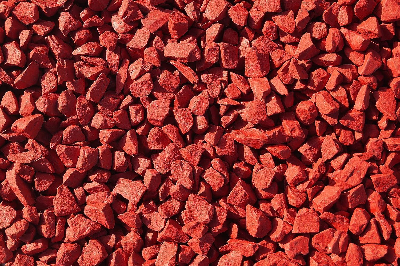 RockinColourTM Piedras decorativas para jardín, color rojo - rosso: Amazon.es: Jardín