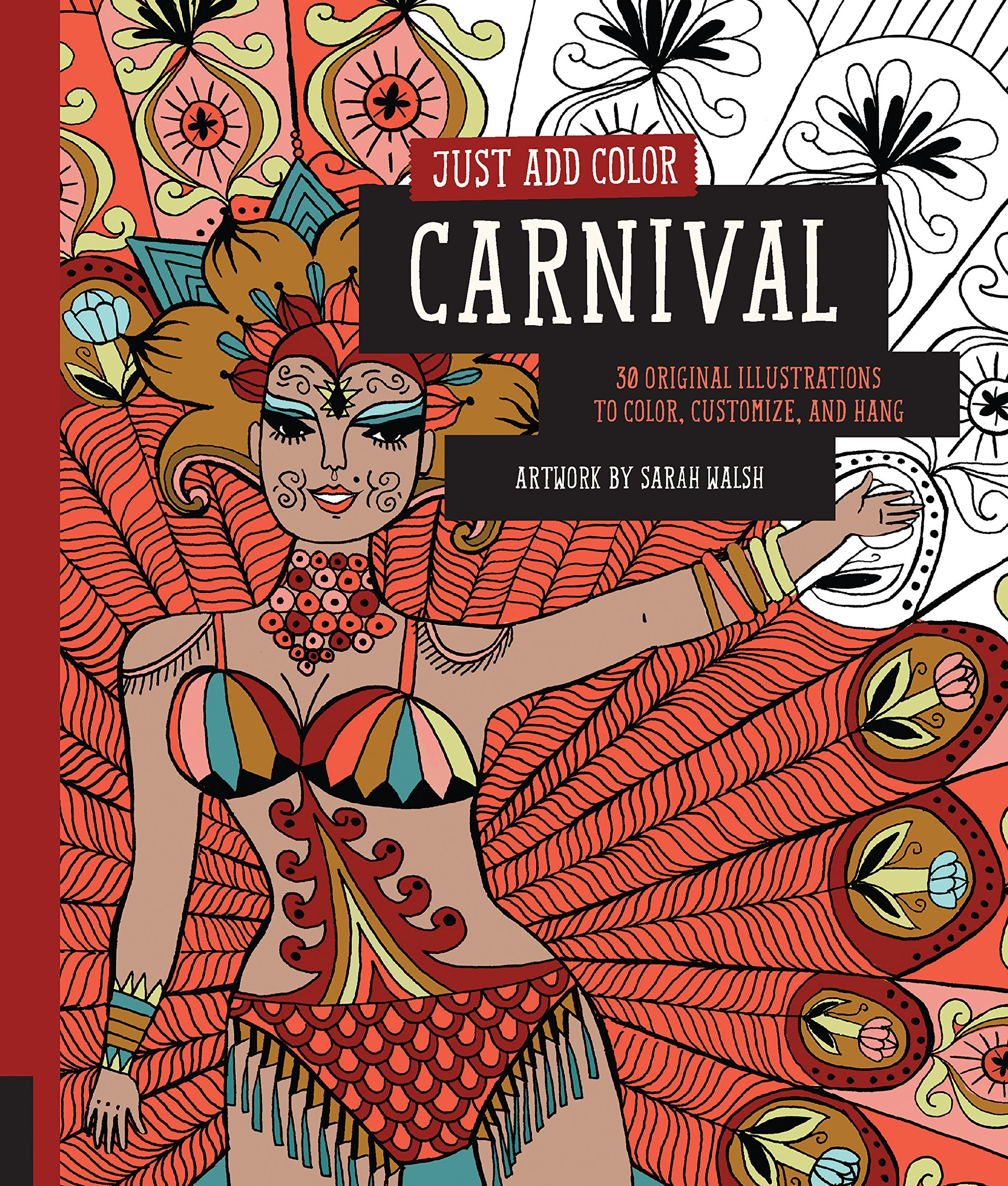 amazon just add color carnival 30 original illustrations to