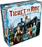 Ticket to Ride Rails & Sails Strategy Game