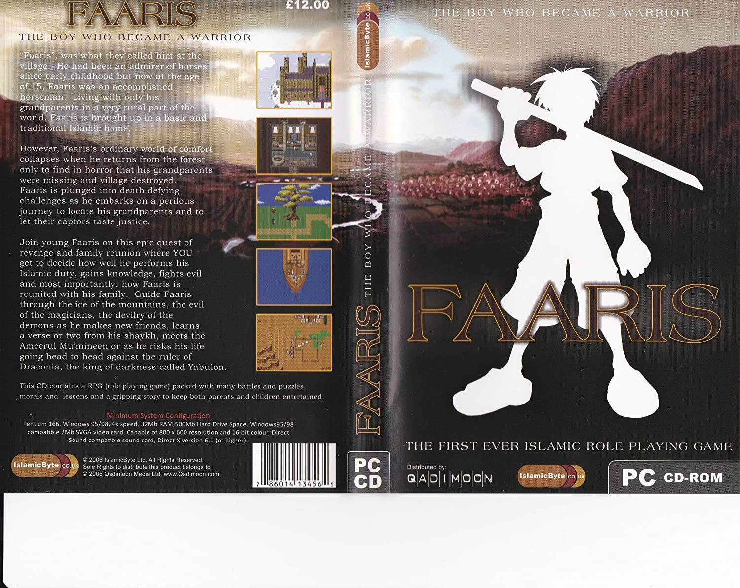 Faaris - The Boy who became a Warrior [CD-ROM]: Amazon co uk