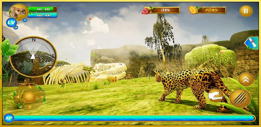 Image of: Update Virtual Wild Cheetah Family Simulator Games For Kids Binge Kuwait Virtual Wild Cheetah Family Simulator Games For Kids Available In