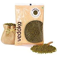 Amazon Brand - Vedaka Popular Green Moong Whole/Sabut, 500g