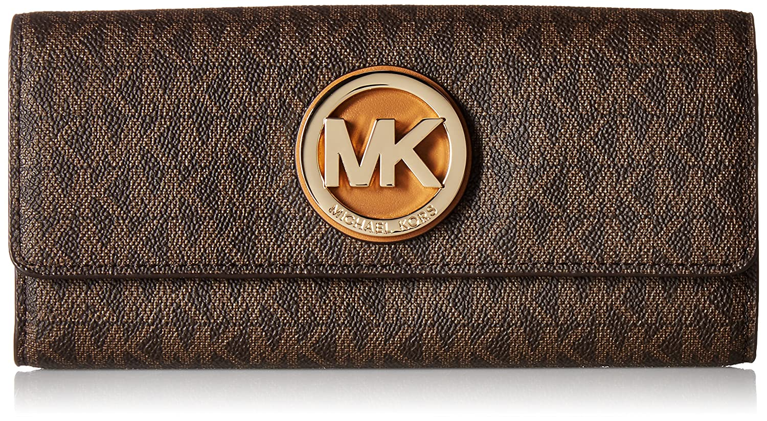 ef4805aa052320 MICHAEL Michael Kors Signature Fulton Carryall Wallet: Amazon.ca: Jewelry