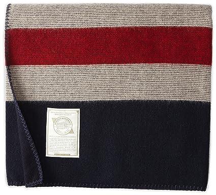 Amazon Woolrich Elite Men's Freedom Throw Blanket RedWhite Cool Mens Throw Blanket