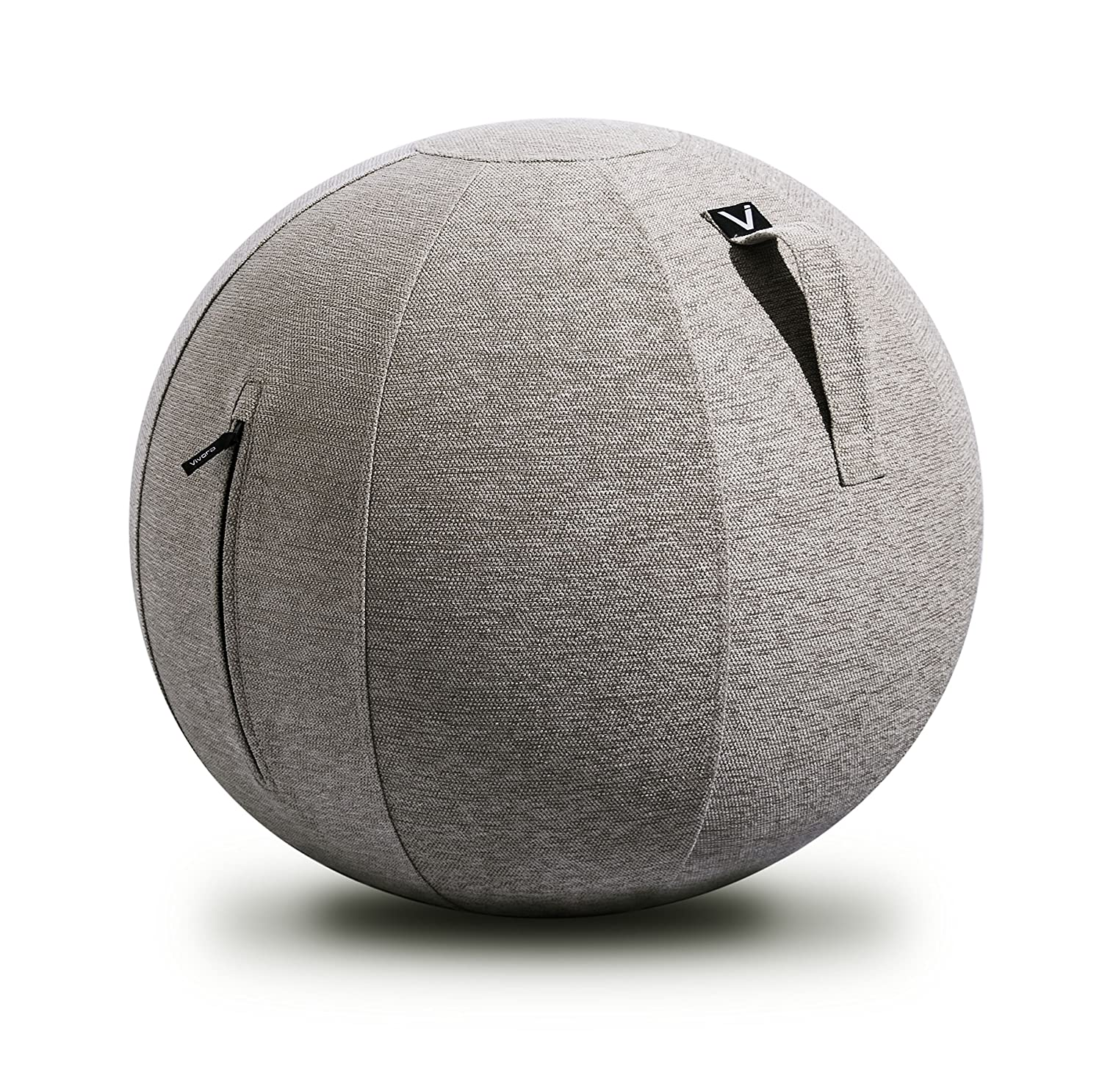 Vivora Luno - Self-Standing Sitting Ball Chair for Home, Office, Yoga,