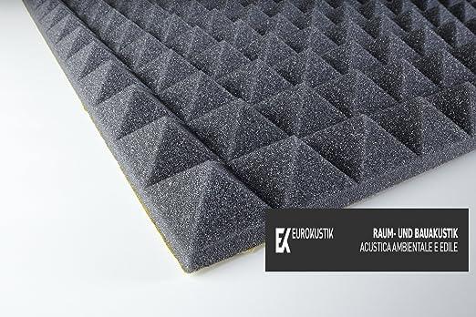 9 opinioni per Pannello Fonoassorbente Piramidale 30mm Adesivo